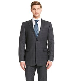 Tommy Hilfiger Men's Big & Tall Plaid Suit Separates Jacket