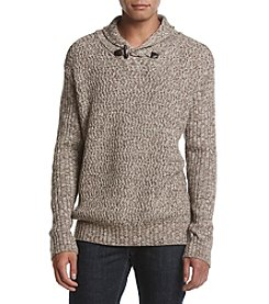 Weatherproof Vintage Men's Marled Toggle Sweater