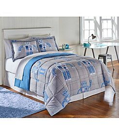 Living Quarters Ben Robot Reversible Microfiber Down-Alternative Comforter