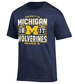 Champion NCAA® Michigan Wolverines Men's Short Sleeve Graphic Tee