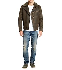 William Rast Men's Westwood Coated Jacket
