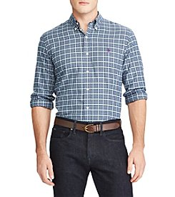 Polo Ralph Lauren Men's Standard Fit Plaid Button Down Shirt