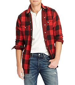Polo Ralph Lauren Men's Classic Western  Iconic Flannel Shirt