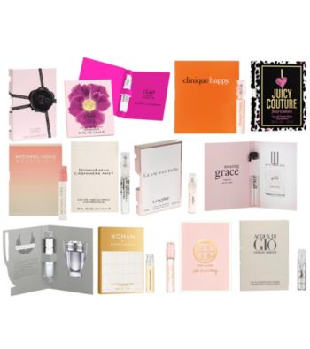 1ab13ef86b35 Purchase  99 In Beauty   Fragrance And Receive A Free 12-pc. Fragrance  Sampler As A Gift!