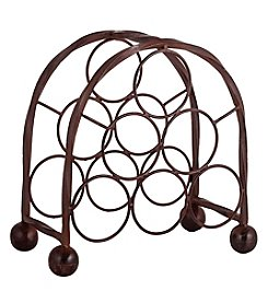 The Pomeroy Collection Rodeo 6 Bottle Wine Rack