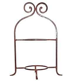 The Pomeroy Collection Santo Double Plate Stand