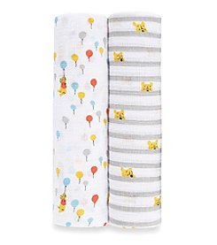 aden by aden + anais 2-Pack Baby Winnie The Pooh Swaddles