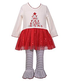 Bonnie Jean Baby Girls' 12M-24M Word Tree Top and Leggings Set