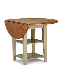 Liberty Furniture Al Fresco Drop-Leaf Taupe Dining Table