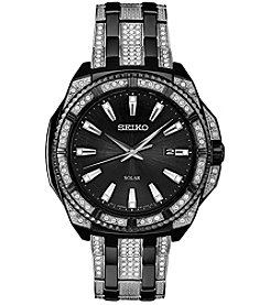 Seiko Men's Solar Crystal Watch