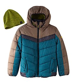 Hawke & Co. Boys' 2T-20 Bubble Jacket