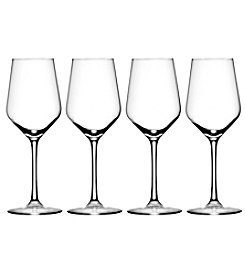 Oneida Nova 4 Piece White Wine Glasses