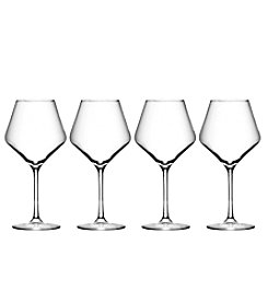 Oneida Nova Set fo 4 Balloon Wine Glasses