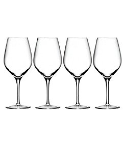 Oneida Grace Set of 4 Red Wine Glasses