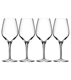 Oneida Grace 4 Piece White Wine Glasses
