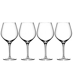 Oneida Grace 4 Piece Balloon Wine Glasses