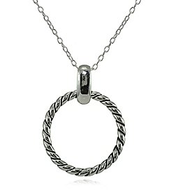Designs by FMC Open Circle Pendant