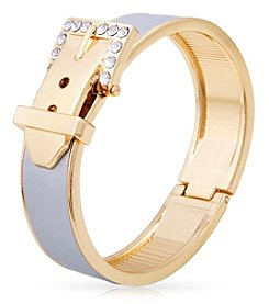 GUESS Hinged Stone Buckle Bracelet