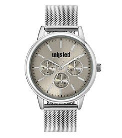 Unlisted by Kenneth Cole Men's Quartz Bracelet Watch