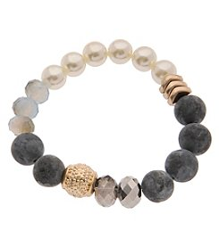 L&J Accessories Beaded Stretch Bracelet