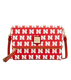 Dooney& Bourke® NCAA® Nebraska Cornhuskers Foldover Crossbody