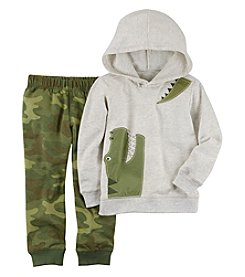 Carter's Boys' 2T-5T Dino Hoodie And Sweatpants Set