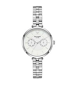 kate spade new york Women's Silvertone Holland Watch