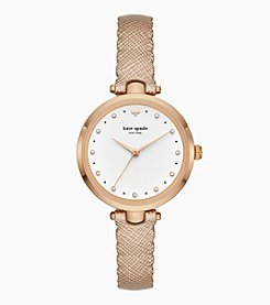 kate spade new york Rose Goldtone Scalloped Holland Watch