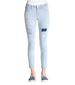 Celebrity Pink Priscilla Ankle Patched Jeans