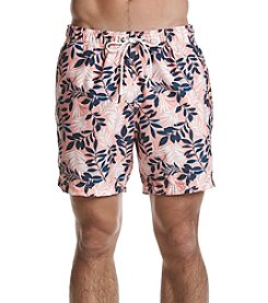 Nautica Men's Westcoast Floral Swim Trunks