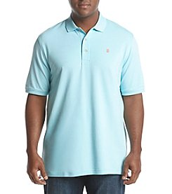 IZOD Men's Big & Tall Short Sleeve Solid Flex Polo