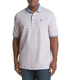 IZOD Men's Big & Tall Short Sleeve Advantage Flex Stripe Polo Shirt