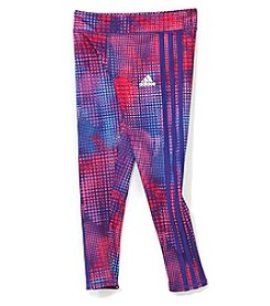 adidas Girls' 2T-6X Euphoric Dot Leggings