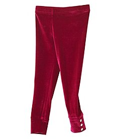 Carter's Girls' 2T-4T Velvet Leggings