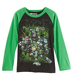 Nickelodeon Boys' 8-20 Long Sleeve Teenage Mutant Ninja Turtles Top