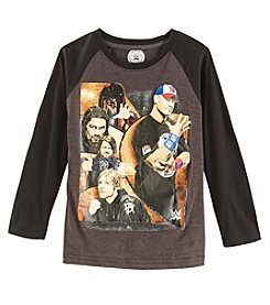 WWE Wrestling Boys'  8-20 Long Sleeve WWE Shirt