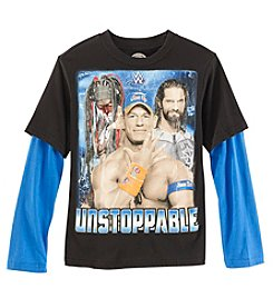 WWE Wrestling Boys' 8-20 Unstoppable Top