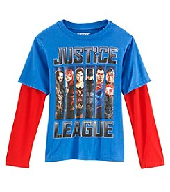 Marvel Heroes Boys' 8-20 Justice League Group Top