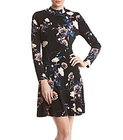 Ivanka Trump Floral Jersey Dress