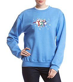 Morning Sun Bundled Birds Sweatshirt