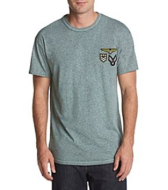 Retrofit Men's Embroidered Patches Short Sleeve Shirt