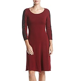 Nine West® Lace Detail Sweater Dress