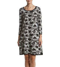 Nine West® Jacquard Print Dress