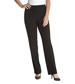 Kasper Wide Leg Slim Pocket Pants