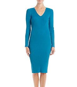 MICHAEL Michael Kors Ribbed Sweater Dress