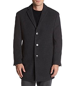 Calvin Klein Men's Prosper Slim Fit Wool Coat