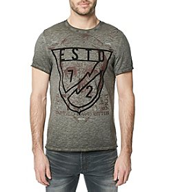 Buffalo David Bitton Tacal Crew Neck Tee