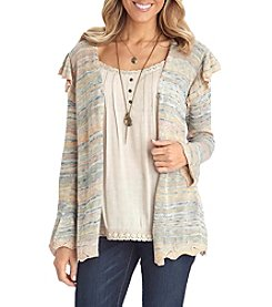 Democracy Bell Sleeve Open Cardigan
