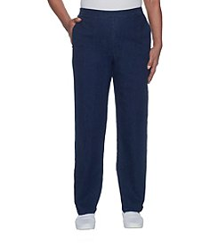 Alfred Dunner Petites' Stretch Casual Pants