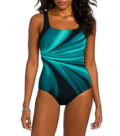 Active Spirit Bold Abstract Pattern One Piece